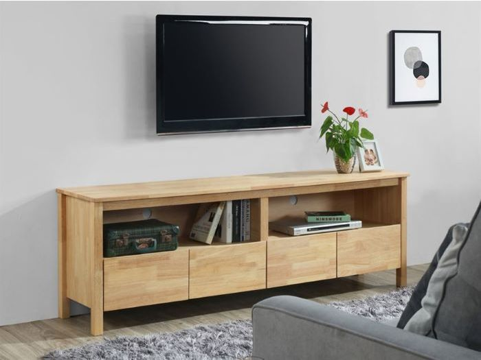 close up view of Room with modern living room furniture containing Bella 10PCE Home Living & Dining Furniture Package built with Natural Hardwood