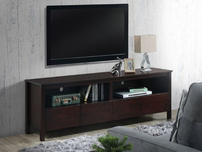 Room with Modern Living Room Furniture containing Coco Entertainment Unit or TV Units built with Chocolate Hardwood