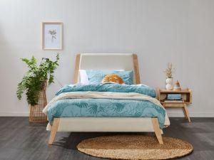 Finn 2PCE King Single Bedroom Suite | Natural Hardwood
