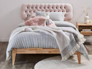 Halo King Single Bed Frame | Natural Hardwood