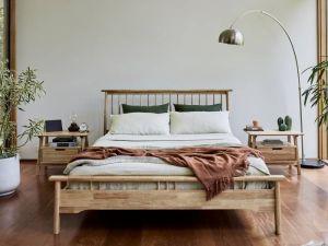 Rome 3PCE Queen Bedroom Suite   Natural