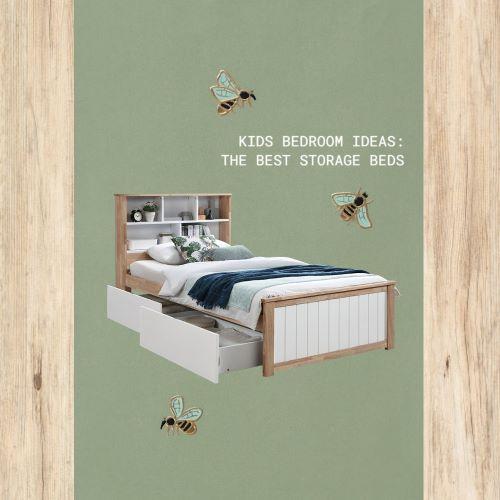 Kids Bedroom Ideas: Best Storage Beds